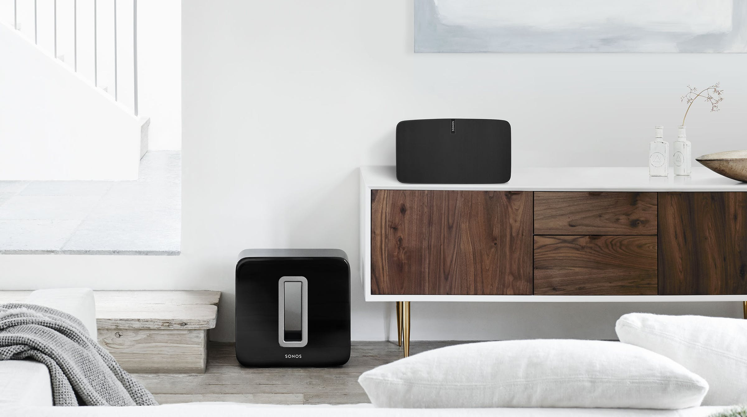 Sonos Sub and PLAY:5